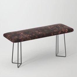 Stone coral - dark Bench