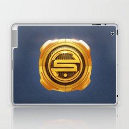 Golden S 3D Emblem Laptop & iPad Skin