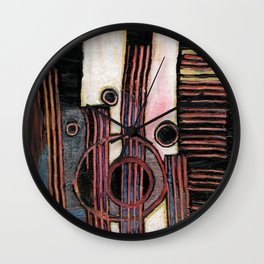 Gutter sewer surprise! Wall Clock