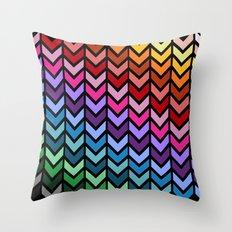 Downside Dark Throw Pillow