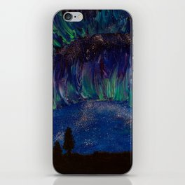 Fading Aurora iPhone Skin