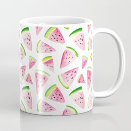Watercolor Watermelon Pattern Coffee Mug