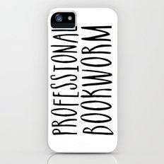 Professional bookworm iPhone (5, 5s) Slim Case