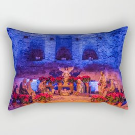 Desktop Wallpapers California USA Christmas Nativi Rectangular Pillow