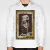 greece Hoodies featuring Greece  by Saundra Myles