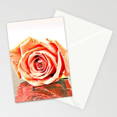 Over Exposed Rose Stationery Cards