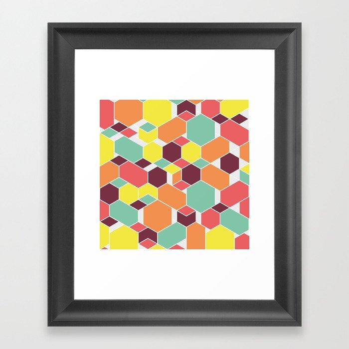 Hex P II Framed Art Print