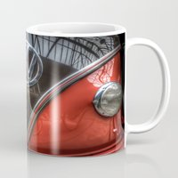 vw Mugs featuring VW Camper by Cozmic Photos