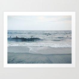 Rockaway Beach, NYC Art Print
