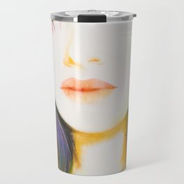 Shes Not So Black and White Travel Mug