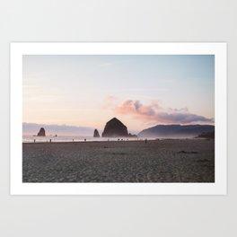 Haystack Rock, Oregon Art Print