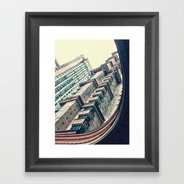 scarlet sails Framed Art Print