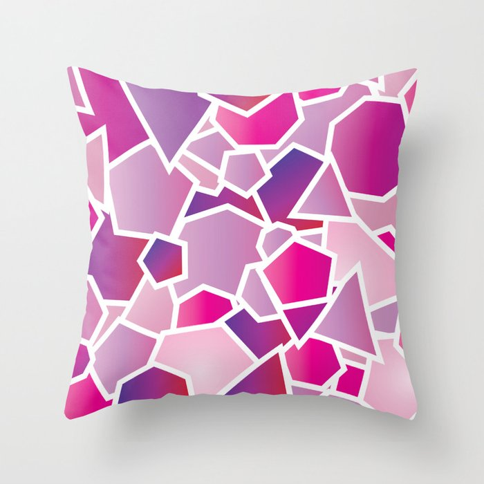 Polyamour No. 1 Throw Pillow