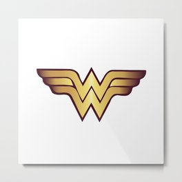 Wonder Wome Metal Print