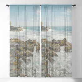 Hawaiian Ocean III Sheer Curtain