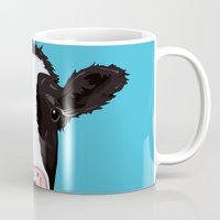 cow Mugs featuring Cow by Compassion Collective