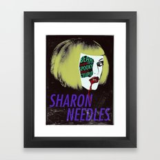 Sharon Needles Poster Framed Art Print
