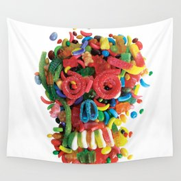 Death and Tooth Decay Wall Tapestry