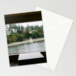 Ferry Ride to Bainbridge Island, WA Stationery Cards