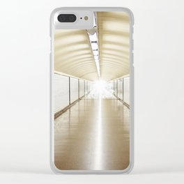 Diego de León Clear iPhone Case