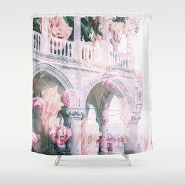 Floral In Venice Shower Curtain