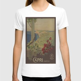 Vintage poster - Capri T-shirt