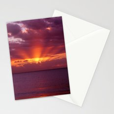 Let the new day lift your spirits to the sky Stationery Cards