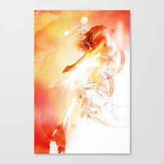 The Surface of the Sun Canvas Print