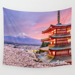 Japan Travel IV Wall Tapestry