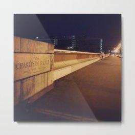 Pont Charles de Gaulle Metal Print