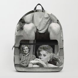 Golden girls minor threat Backpack