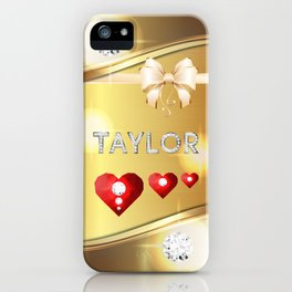 Taylor 01 iPhone Case