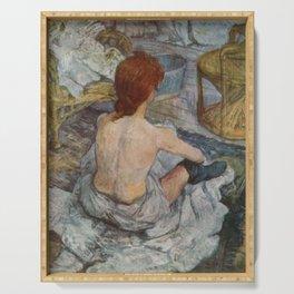 Henri De Toulouse Lautrec Rousse Serving Tray