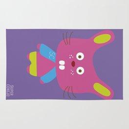 """Super Conejo"" Rug"