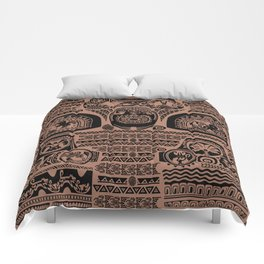 Maui Tattoos Inspired Moana Comforters