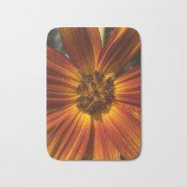 Sunburst Sunflower Bath Mat