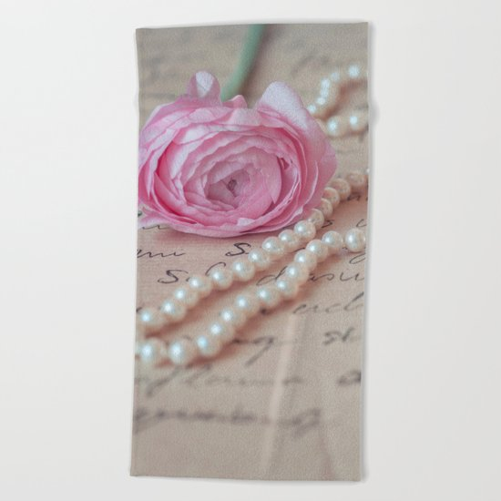 Pink Luxury Beach Towel