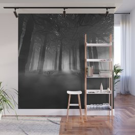 Soul of the Forest B&W Wall Mural