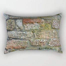 Old granite wall Rectangular Pillow