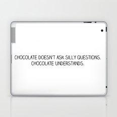 chocolate doesn't ask Laptop & iPad Skin
