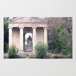 Reflection at Villa Borghese. Rug