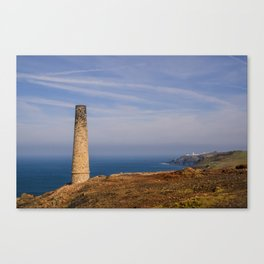 Levant to Pendeen View Canvas Print