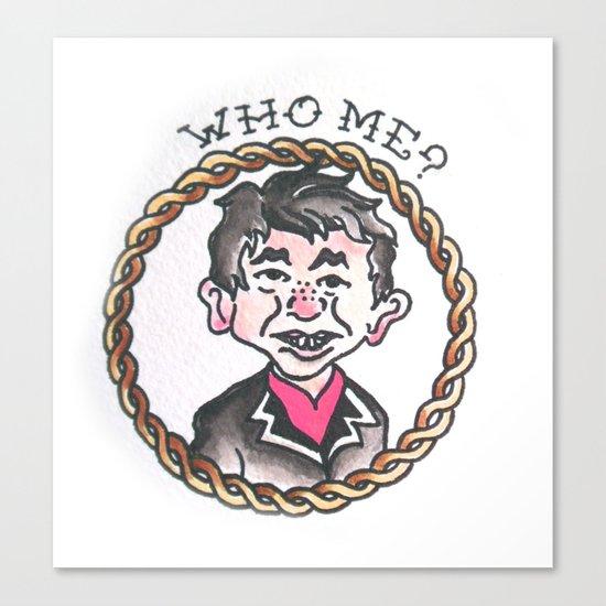 Who Me ? Canvas Print