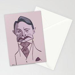"MADS MIKKELSEN as ""HANNIBAL"" Stationery Cards"