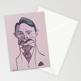 "MADS MIKKELSEN as ""HANNIBAL"" Stationery Cards"