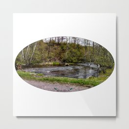 Back-Road Creek Metal Print