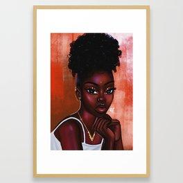 Cocoanut Oil x Hot cheetos Framed Art Print