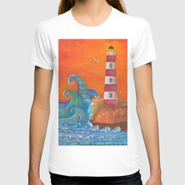 Out of Nowhere Lighthouse T-shirt