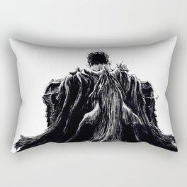 Berserk Guts with Beast of Darkness Rectangular Pillow
