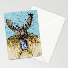 Moose Guide Stationery Cards